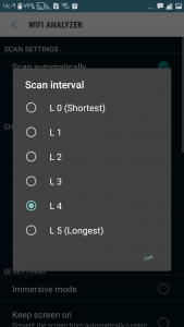 قسمت Scan Interval