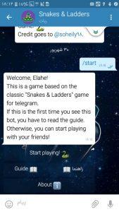 ربات اول بازی مارپله slgbot@