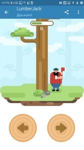 بازی Lumber Jack