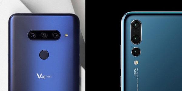 مقایسه دوربین V40 و P20 Pro