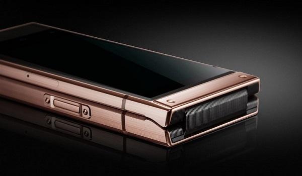 Samsung W2019 side button