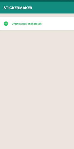 شروع ساخت پکیج استیکر برای واتس اپ
