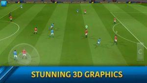محیط بازی فوتبال Dream League Soccer 2019 اندروید