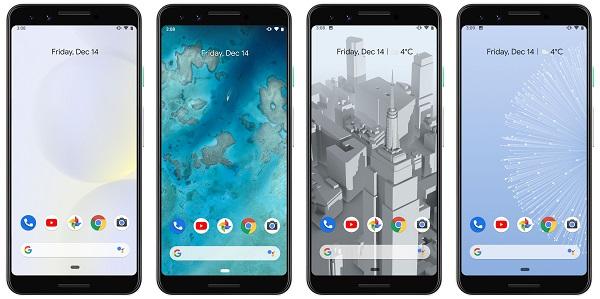 Google Pixel 3-live wallpaper
