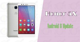 ارتقا گوشی Honor 5x