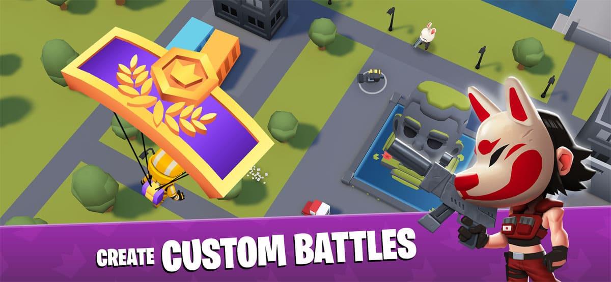 ویژگی های بازی Battlelands Royals