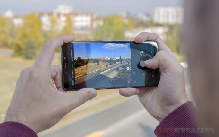 رابط کاربری اپلیکیشن دوربین