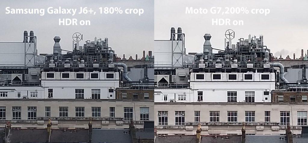 J6 Plus vs Moto G7