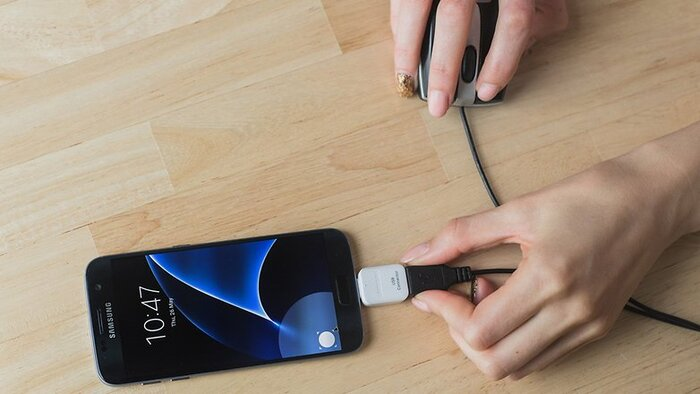آموزش اتصال هارد و فلش و دسته بازی با USB به اندروید