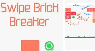 بازی Swipe Brick Breaker آجر شکن اندروید