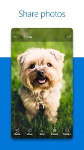 فضای ابری Microsoft OneDrive اندروید