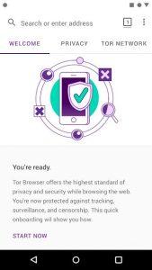دانلود مرورگر Tor اندروید