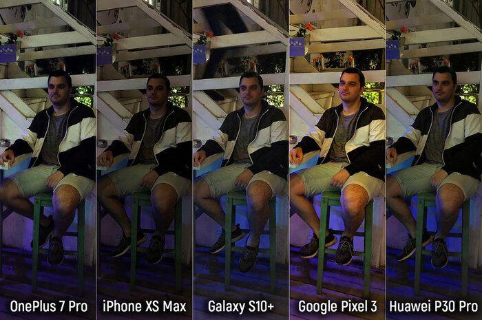 مقایسه دوربین گوشی های پرچمدار در نور روز و شب-scene-10