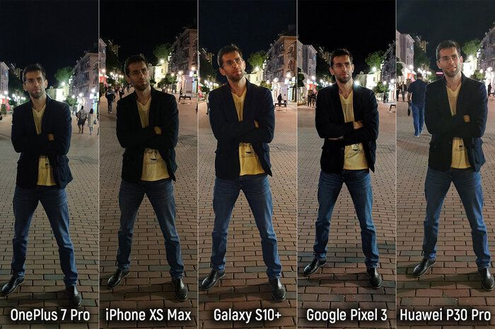 مقایسه دوربین گوشی های پرچمدار در نور روز و شب-scene-6