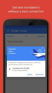 برنامه جذاب و جالب و خوب Google Translate اندروید