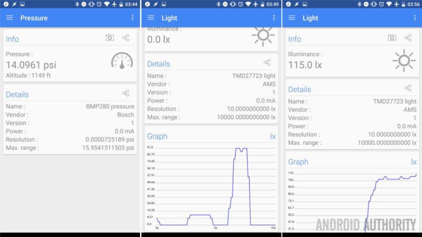 سنسور های فشار و سنجش نور