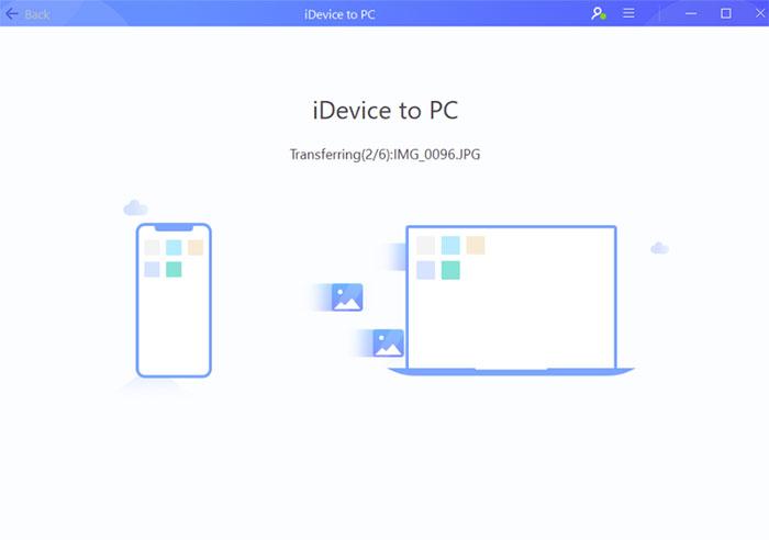 EaseUS MobiMover انتقال فایل آیفون