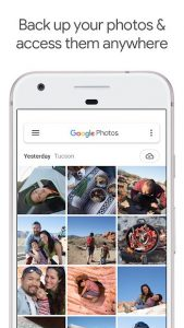 محیط نرم افزار Google Photos