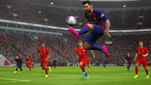 محیط بازی فوتبال PES 2020 اندروید