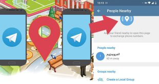 آموزش ساخت گروه محلی و چت محلی در تلگرام با GPS