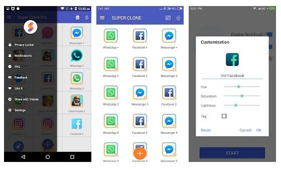Super Clone - بهترین برنامه کلون اندروید