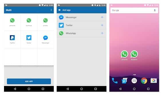 Multi-multiple accounts app - بهترین برنامه کلون اندروید