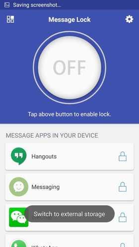 مخفی کردن پیامک اندروید با SMS Lock