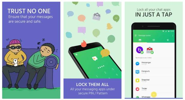 مخفی کردن پیامک اندروید با Message Locker