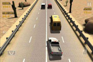 محیط بازی Traffic Racer