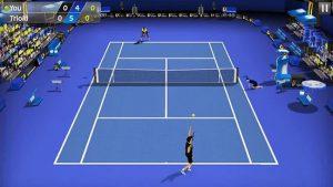 زمین های بازی در 3D Tennis