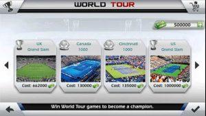 مراحل بازی 3D Tennis