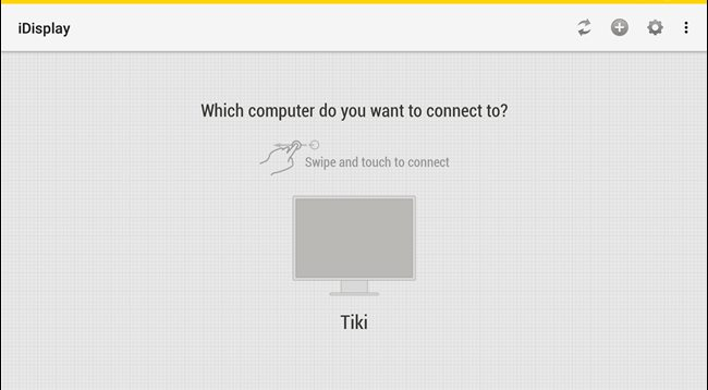 پیدا کردن کامپیوتر در گوشی با iDisplay