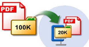 فشرده سازی فایل PDF برای اندروید