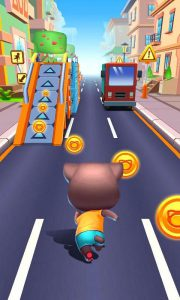 محیط بازی Cat Runner