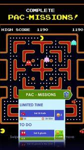 مراحل بازی PAC-MAN