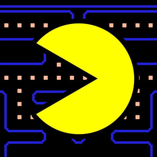 لوگوی PAC-MAN
