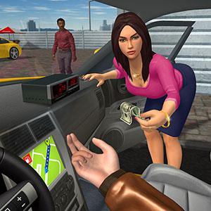 لوگوی بازی شبیه ساز راننده تاکسی