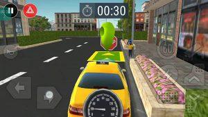 محیط بازی Taxi Game Free
