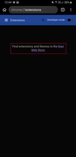 ورود به Kiwi Web Store
