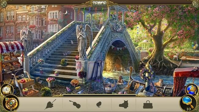 محیط بازی Hidden City: Hidden Object Adventure