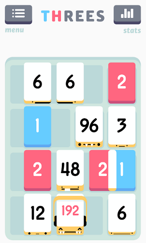 بازی ریاضی اندروید Threes!
