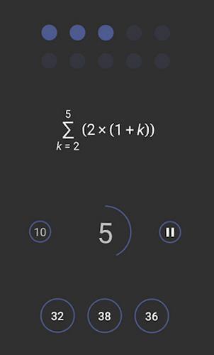 محیط بازی ریاضی اندروید Mental Math Master