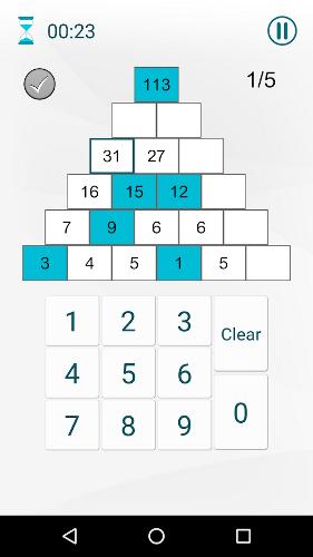 محیط بازی ریاضی اندروید Godline Math Games