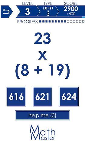محیط بازی ریاضی اندروید Math Master