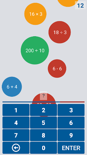 محیط بازی ریاضی اندروید Mathematiqa