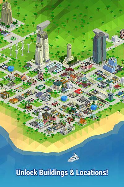 محیط بازی Bit City