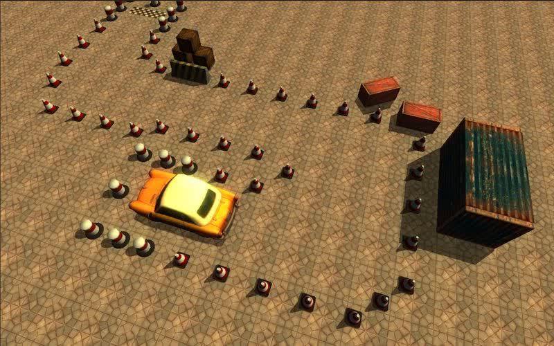 محیط بازی Real Driver: Parking Simulator