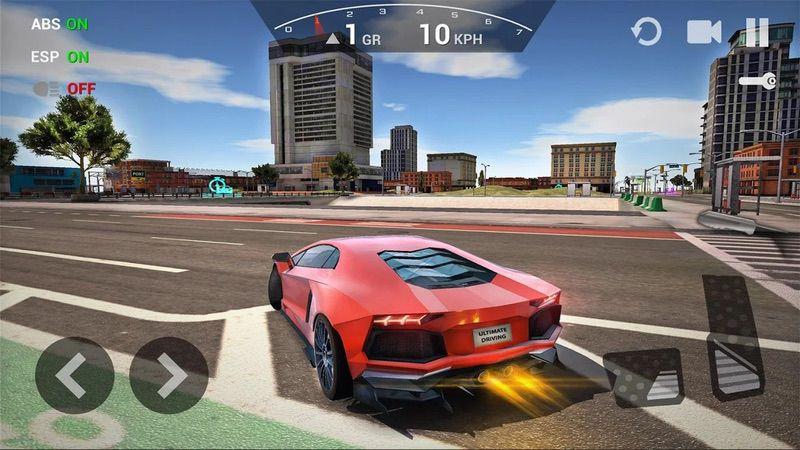 محیط بازی Ultimate Car Driving Simulator