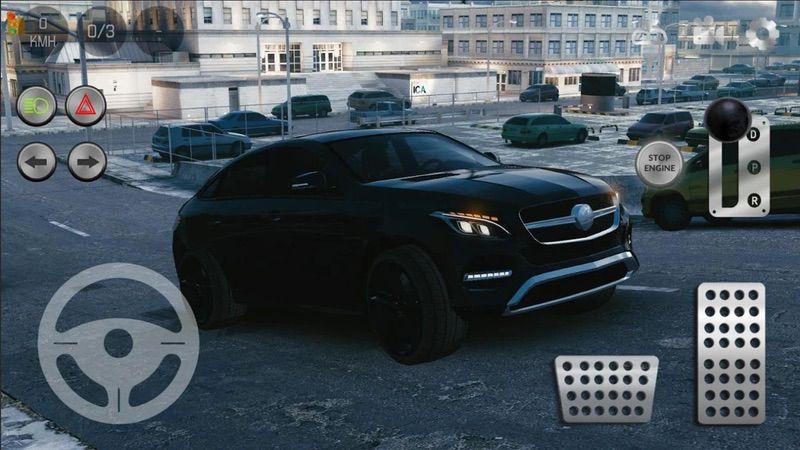 محیط بازی Real Car Parking 2: Driving School 2018