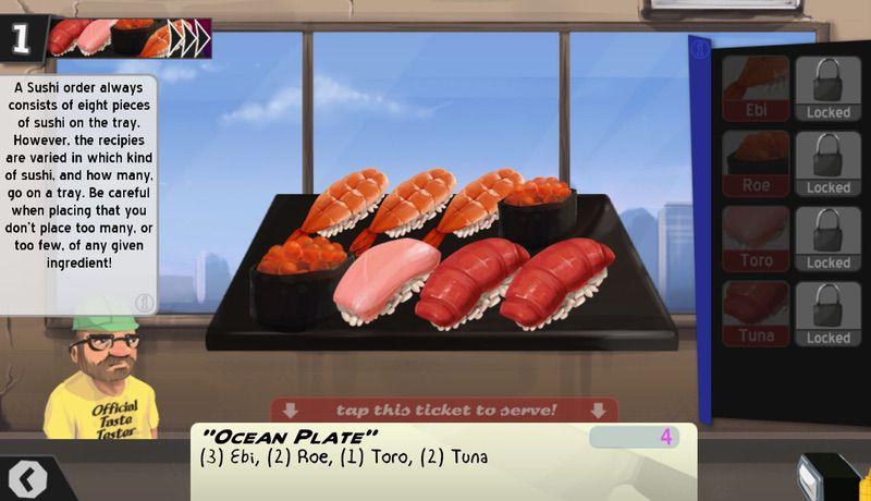 محیط بازی Cook, Serve, Delicious